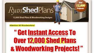 Review Of The Video - Building A Shed, How To Build A Shed Base - Shed Plans With Shed Blueprints...