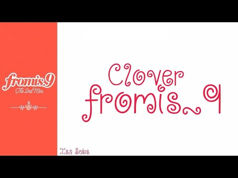 Fromis_9 - Clover (OT9) Legendado PT-BR Lyrics (Color Coded/ROM/ENG/PT-BR)