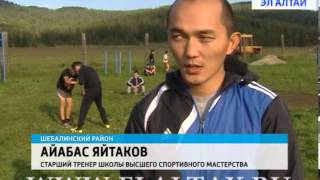 Бойцы «Битвы барсов» тренируются на Семинском