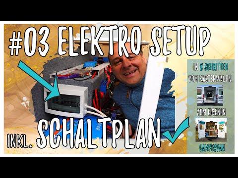 #03 Unser ELEKTRO-Setup inkl. Schaltplan in unserem Fiat DUCATO DIY Campervan Ausbau
