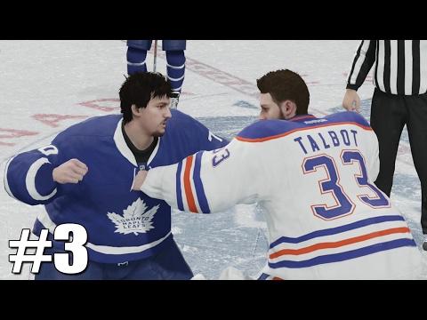 NHL 17 - Goalie Be a Pro #3 - GOALIE FIGHT! Mp3