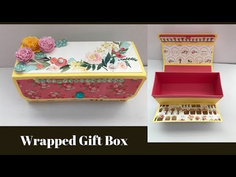 Easy Wrap Around Gift Box - Using Items From Our May Club Kit
