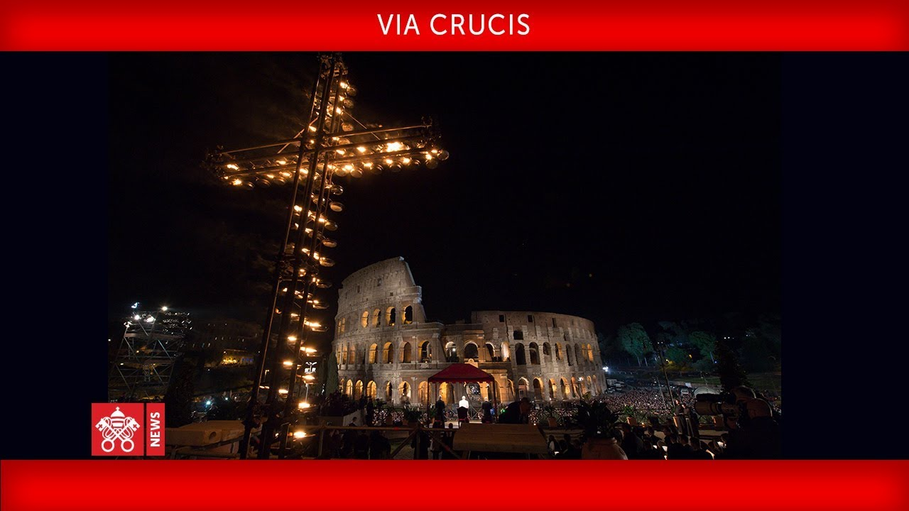 Papa Francesco - Via Crucis 2019-04-19
