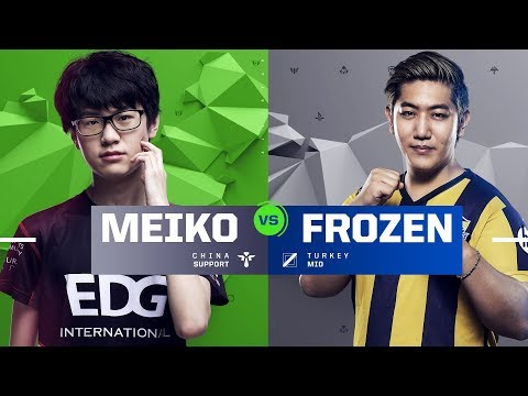 Meiko vs. Frozen | 1v1 Tournament | 2017 All-Star Event