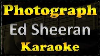 Ed Sheeran - Photograph - Acoustic Guitar Karaoke # 7