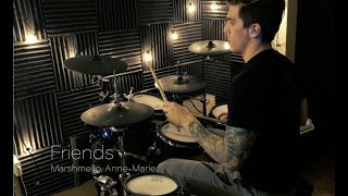 Marshmello & Anne-Marie - Friends Drum Cover