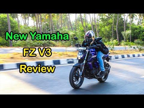 New Yamaha FZ V3 Review   Tamil   Vahanam   Bike Reviews