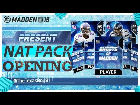 5 Ghost Of Madden's Present Pack Opening | New Ghost Players | Madden 19 Ultimate Team