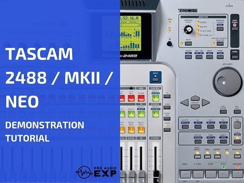 Tascam 2488 / mkii / neo dvd video training tutorial help: amazon.