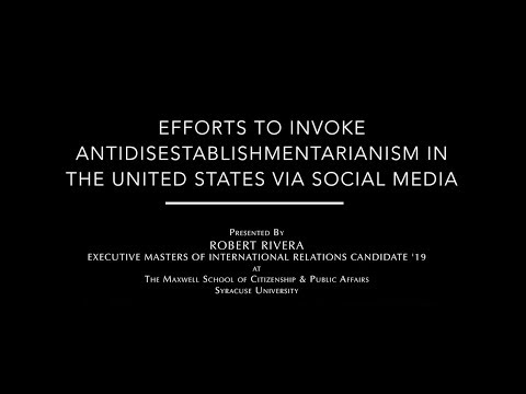 Efforts to Invoke Antidisestablishmentarianism in the United States via Social Media