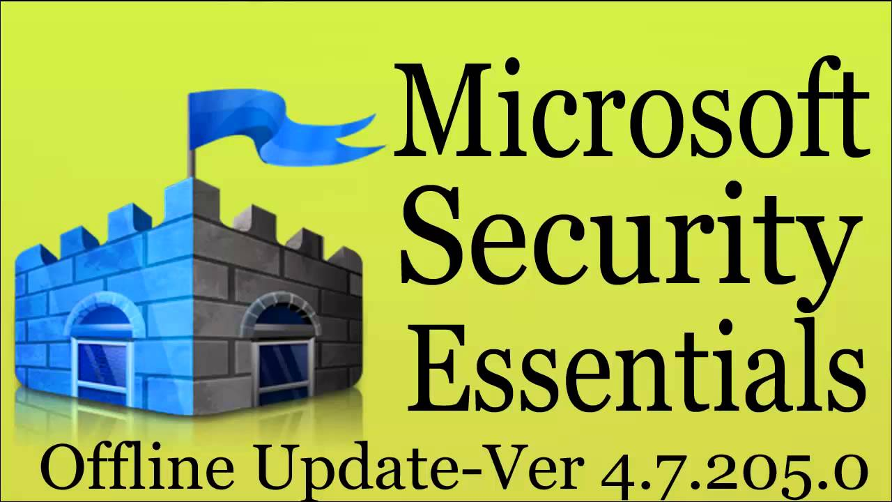 Get the latest definitions microsoft malware protection center.