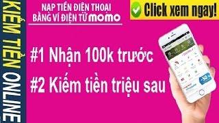 KIẾM NGAY 10 TRIỆU từ momo là có thật – Hướng dẫn kiếm tiền MOMO