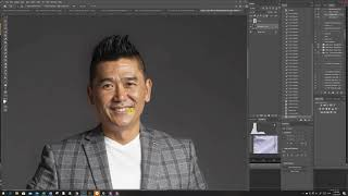 Photoshop - Edit Paper backdrop creases