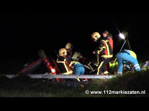 Gewonde bij eenzijdig ongeval in Sint-Maartensdijk, inzet traumaheli