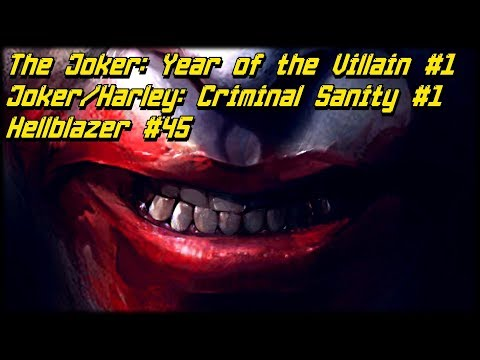 Новинки 09.10: Joker/Harley: Criminal Sanity #1, The Joker: Year of the Villain #1
