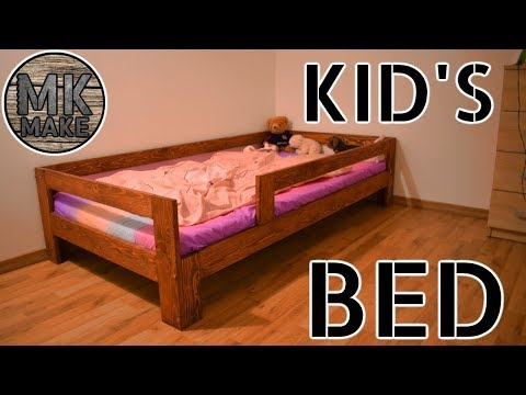 I Made a New Bed For My Daughter | DIY Kid's Bed
