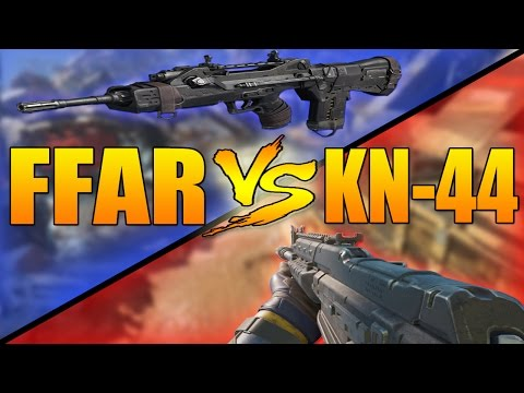 FFAR VS KN-44 (Call of Duty Black Ops 3 Assault Rifle Versus)