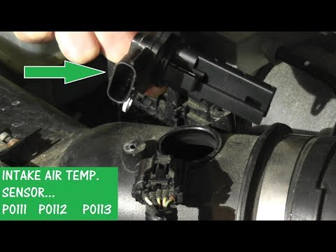 Intake Air Temperature Sensor P0111 / P0112 / P0113 | How to Test and Replace