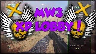 FREE MW3 XP LOBBY XBOX ONE / 360 FREE MODDED LOBBIES!
