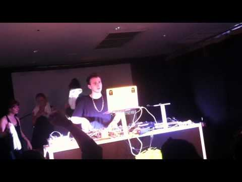 "RL Grime ""Trap on Acid"" Live @ REMIX LAB NYC 9/28/12"
