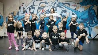 Новогодний праздник для детских групп в школе танцев Evolvers г.Красноярск