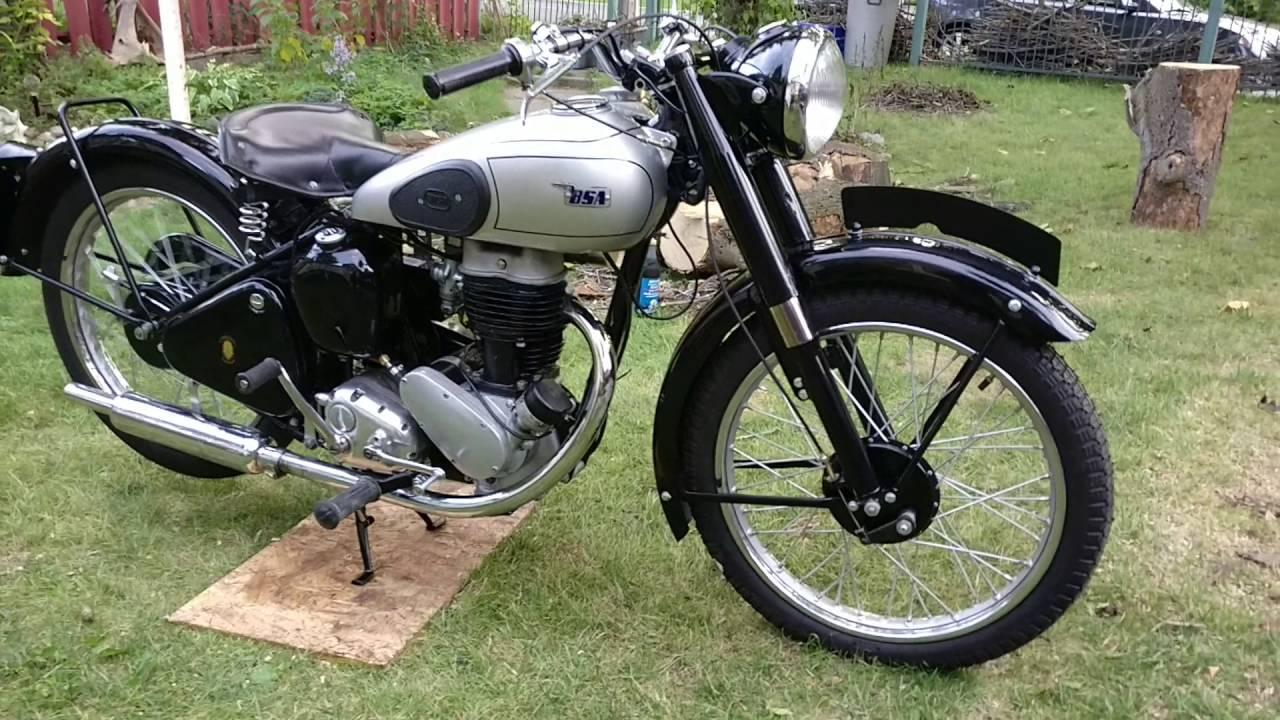 1949 Bsa C11- Part 1