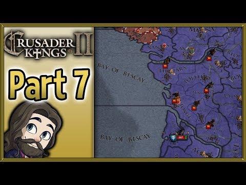 Crusader Kings II Asturias Gameplay - Part 7 - Let's Play Walkthrough