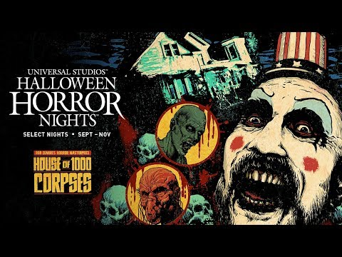 The Theme Park Podcast - Rob Zombie's House Of 1000 Corpses Announced For Halloween Horror Nights