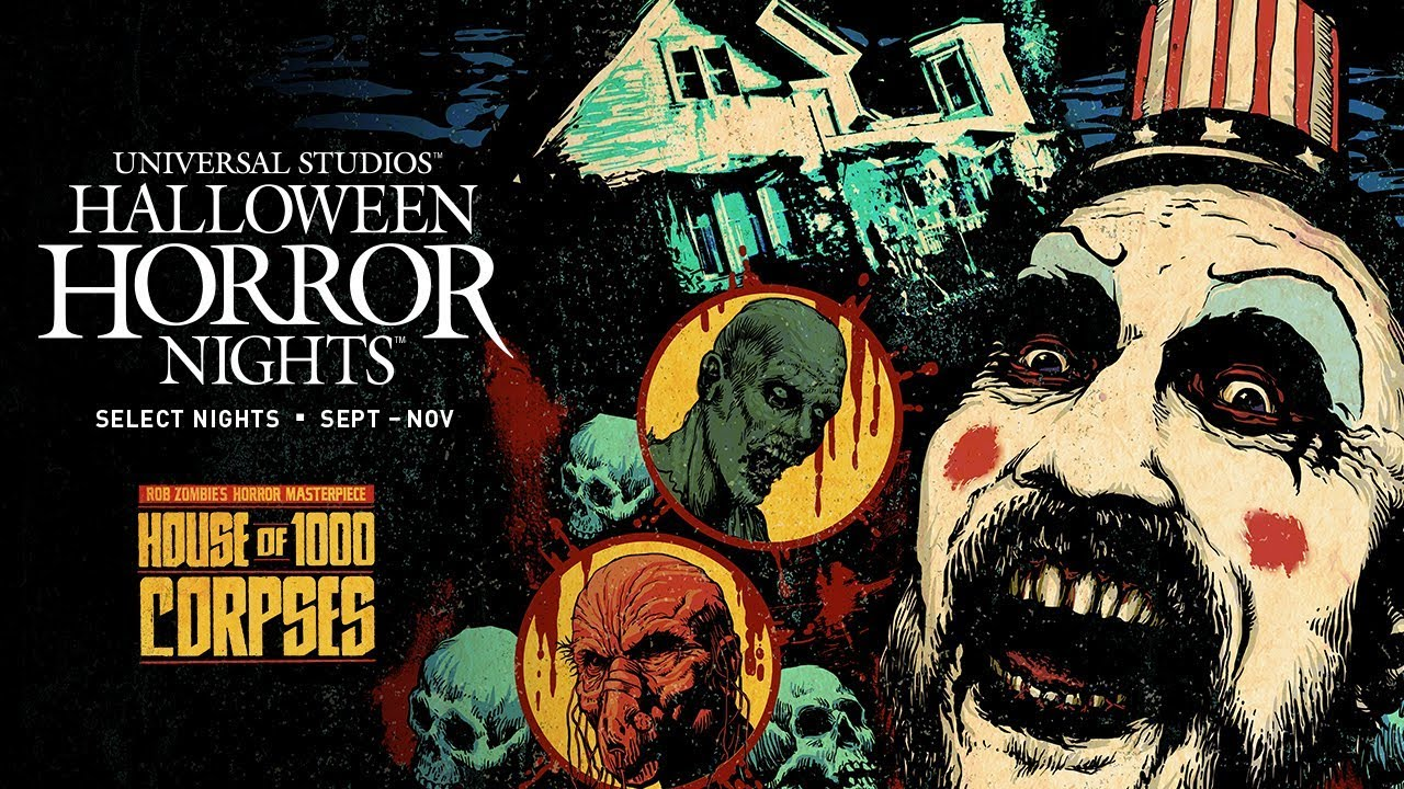 Step Inside House Of 1000 Corpses At Halloween Horror
