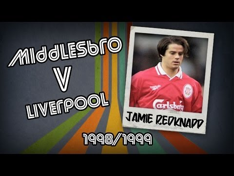 JAMIE REDKNAPP - Middlesbrough V Liverpool, 98/99 | Retro Goal