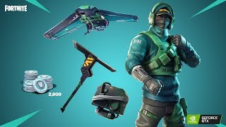 🔴NVIDEA SKINS ZA 1200V-bucks SEASON8!!! ///Mám SUPPORT-A-CREATOR!!! Fortnite stream CZ