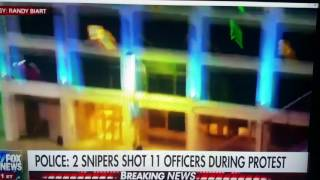 cop shot in shootout in dallas live on fox news