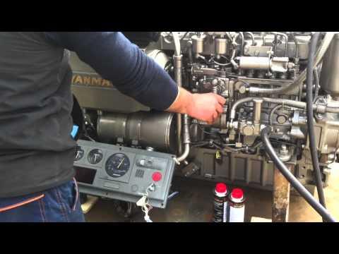 Trattamento motore marino Yanmar - 440 CV da Jolly Drive Marine con Metabond Gold
