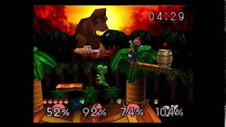"""Making The (Super Smash Bros. Melee) Announcer Saying: """"Giant Donkey Kong"""" (In a """"Smash 64"""" way)"""