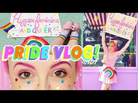 ♡ GAY FRIENDS BEING GAY | PRIDE PARADE VLOG ♡