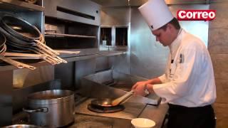 Aprende a preparar risotto de camarones con Gregor Funke
