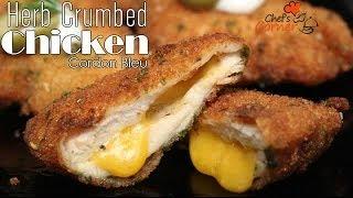 Herb Crumbed Chicken Cordon Bleu Recipe | Ventuno Chef's Corner