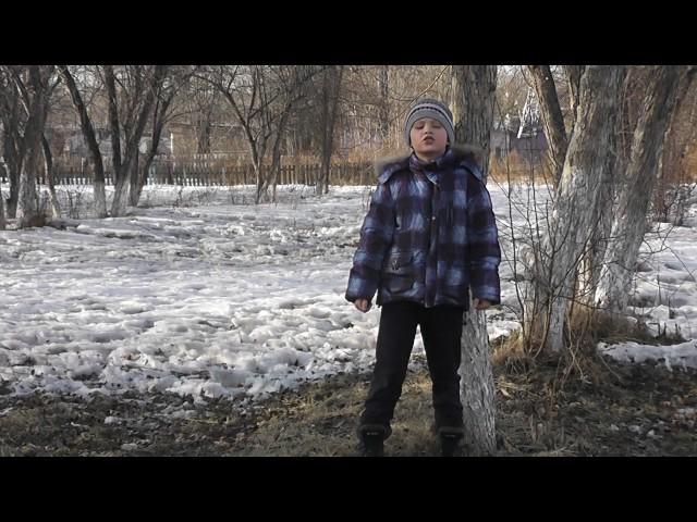Изображение предпросмотра прочтения – ДаниилПантыгин читает произведение «Весенние воды (Еще вполях белеет снег…)» Ф.И.Тютчева