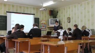 Урок в 7 классе по немецкому языку на тему: