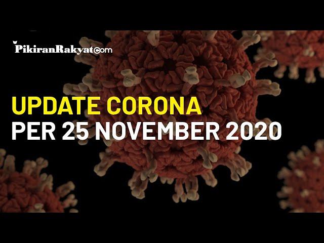 BREAKING NEWS: Update Corona Covid-19 di Indonesia 25 November , Pecah Rekor, +5.534 Kasus Positif