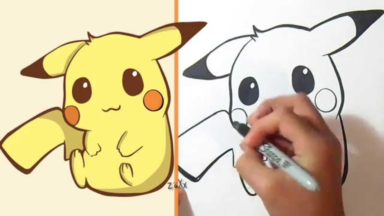 Comment Dessiner Pikachu Youtube