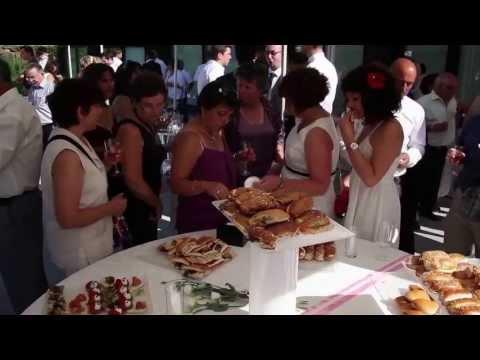 Vidéo mariage - Stéphanie & Julien - vin d'honneur