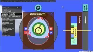 【Phun】 Magnetic Wankel Engine (磁力式ロータリーエンジン)