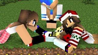 РЕБЕНОК И ДЕВУШКА ВАМПИР ЗНАКОМИТЬСЯ С РУСАЛКОЙ Выжиивание на острове в Майнкрафт! Мультик Minecraft