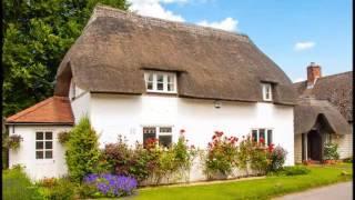 Уютные дома в английском стиле с английскими дворами