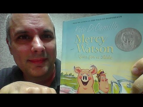 mercy watson #2 - mercy watson goes for a ride - chapters 1-6 ...
