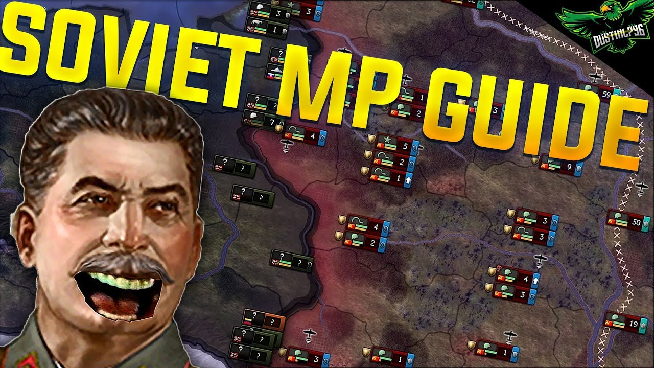 Hearts of Iron 4 Man the Guns Soviet Union MP Guide (HOI4 MTG Russia  Tutorial Expansion Guide)