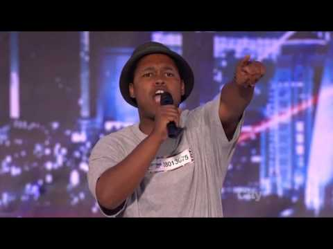 America's Got Talent 2013  Week 1 Auditions - Tone The Chiefrocca - Booty