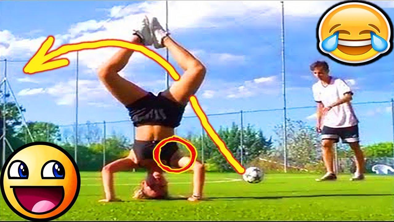 FOOTBALL FUNNY VIDEOS ⚽86  WOMEN SOCCER GIRLS FAILS ● COMIC MOMENTS VINES 2017 ● Goals ● Skills