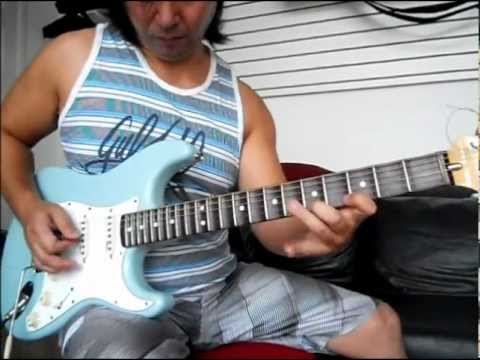 Surfing with the alien  JOE SATRIANI by Ulisses Miyazawa ( with original backing track)